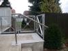 Brüstungs Geländer für eine Terrasse