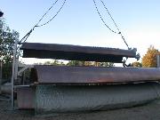 Dumrath & Fassnacht: Pylon beim Verladen in Hildesheim