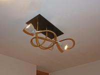 Schwanenhalsleuchte als Sonderanfertigung für LED Leuchtmittel