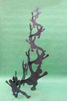 gelaserte Mann Skulptur von Della