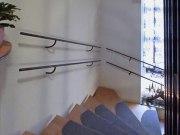 Treppengeländer - Rundeisen mit unterem Geländer für Kinder