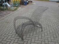 Stuhl aus Draht