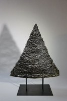 Tannenbaum aus 2mm Eisen Draht