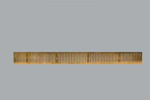 Drainage Roste aus 6 mm Tombak