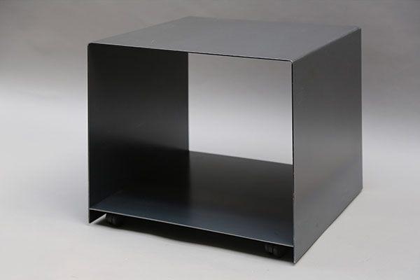 rollbarer druckerwagen aus 3 mm stahlblech druckertisch. Black Bedroom Furniture Sets. Home Design Ideas