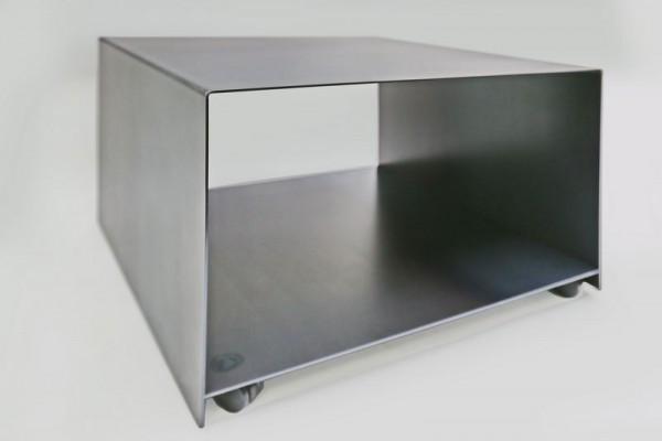 rollbarer Drucker Wagen aus 3 mm Stahl