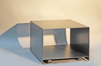 rollbarer Druckerwagen aus 3 mm Stahlblech