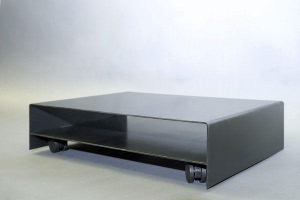 rollbarer Druckerwagen aus 3mm Stahlblech
