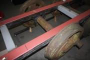 26.01 - Die Arbeiten am Fahrgestell werden weiter geführt