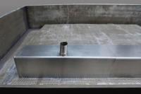 Edelstahlablauf für Waschbecken