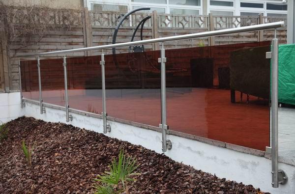 terrassengel nder und treppengel nder aus edelstahl und. Black Bedroom Furniture Sets. Home Design Ideas
