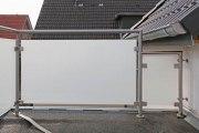 VSG-Sicherheitsglas mit innenliegender, blickdichter PVB-Sicherheitsfolie