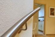 Hochwertiger Edelstahl Handlauf für eine Wendeltreppe