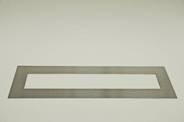 Rahmen aus 1 mm Edelstahl