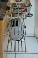 Edelstahlroste für die Küche