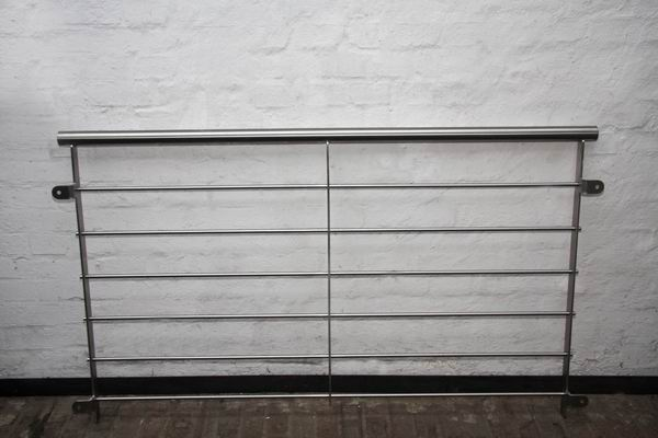 franz sischer balkon aus edelstahl mit horizontaler f llung. Black Bedroom Furniture Sets. Home Design Ideas