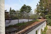 Terrassen Reling Geländer aus  Edelstahl