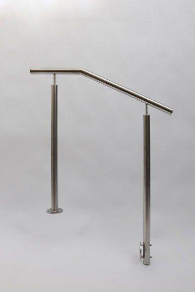 Edelstahl Geländer aus 42 mm Edelstahlrohr