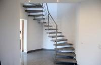 Treppengeländer aus Edelstahlrohr