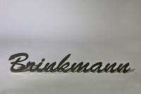 Namensschild aus beständigem Edelstahl