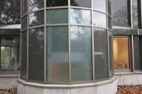Etched Folie als Sichtschutz für Fenster