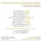 Niedersächsische Staatspreisträger im gestaltenden Handwerk