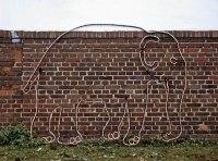 Leuchtender Elefant für den Winter Zoo Hannover
