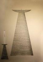 Entwurf eines Oster Kerzenleuchters