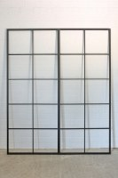 zweiteiliges Fenster im Industrie Look