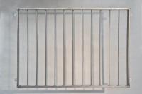 Gitter aus 40 x 20 mm Vierkantrohr und 12 mm  Rundeisen