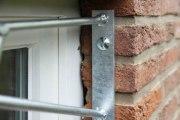 Fenstergitter mit Schmitzstruktur als Einbruchschutz