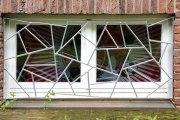 Fenstergitter mit Schmitzstruktur
