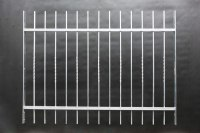 Fenstergitter mit senkrechten Gitterstäben