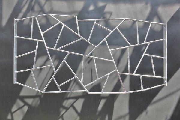 Sicher und schön: Fenstergitter mit Schmitzstruktur