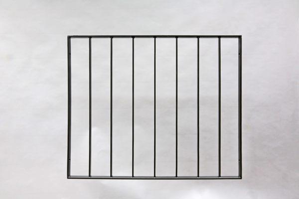 Fenstergitter aus Flachstahl 30 x 10 mm
