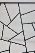 Fenstergitter mit Schmitzstruktur feuerverzinkt und lakiert