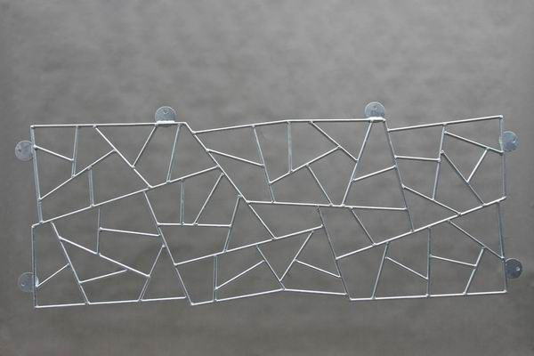 Fenstergitter aus Schmitzstruktur