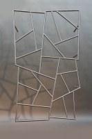 Unser Schmitzstruktur Fenstergitter in Edelstahl