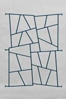 farbig lackiertes Fenstergitter mit Schmitz Struktur