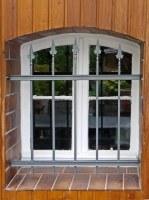 Fenstergitter aus Hespeneisen