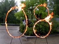 Gas betriebene Feuerringe 2008