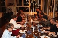 Eine atemberaubende Aussicht, nette Kollegen und ein einfallsreiches, tolles Essen, was will man mehr