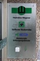 Firmenschild für die Hastrabau Wegener GmbH in Langenhagen