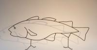 kleiner Fisch aus 5 mm Draht