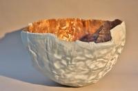 flammgespritzte Schale aus Kupfer mit Zink