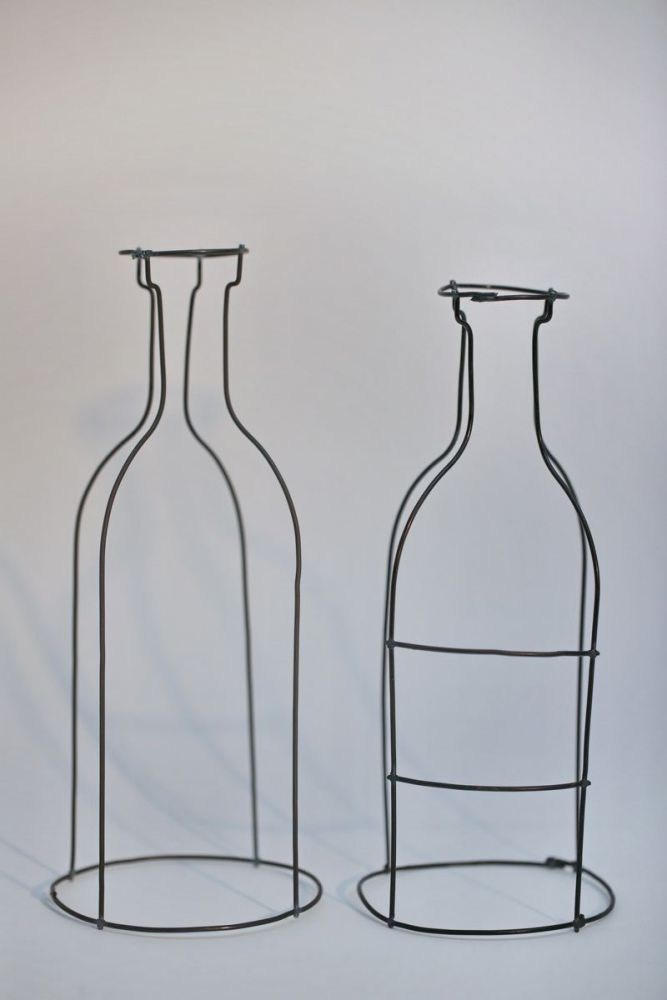 Relativ 4 Flaschen aus 2 mm Draht CS71