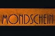 Schild für das Café Fräulein Mondschein in Darmstadt