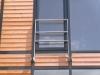 Französischer Balkon aus feuerverzinktem Flachstahl
