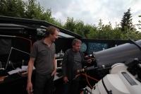 Fritz Aly zu Gast in unserer Sternwarte