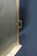 Haben Sie schon mal ein schöneres Funkenschutzgitter gesehen?